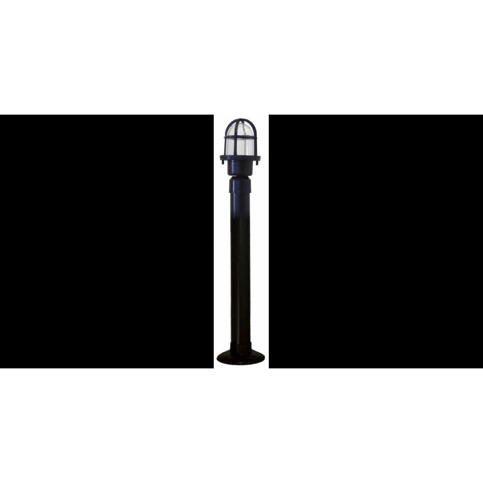 SLP-500ΕΒ BLACK 100cm ΕΔΑΦΟΥΣ 1/Φ ΨΗΛΟ ΠΛΕΓΜΑ