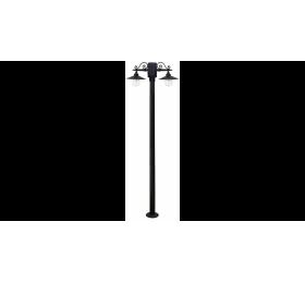 LP-500ΕΒ 2/Φ BLACK ΚΑΡΑΒΟΛΟΣ 200CM ΙΣΤΟΣ