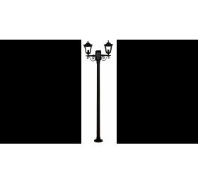 LP-352ΕΒ 200cm BLACK ΙΣΤΟΣ ΚΑΡΑΒΟΛΟΣ