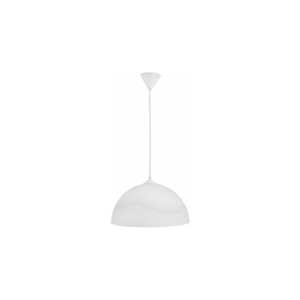 SFERA/36 1/L Φ36 WHITE PLASTIC ΚΡΕΜΑΣΤΟ