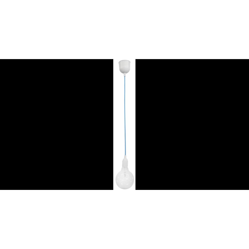ΚΑ-01 BLUE 1/L ΚΡΕΜΑΣΤΟ ΓΑΛΑΖΙΟ Ε/27 ΚΑ