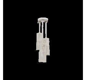MAC-01PENDEL 3/L MACKRAME -V-ΚΡΕΜΑΣΤΟ